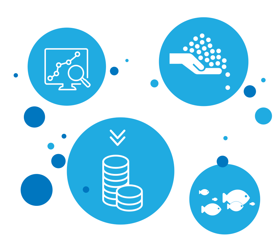Aquaculture data mining supports fish farming cost reduction, increases productivity and improved efficiency